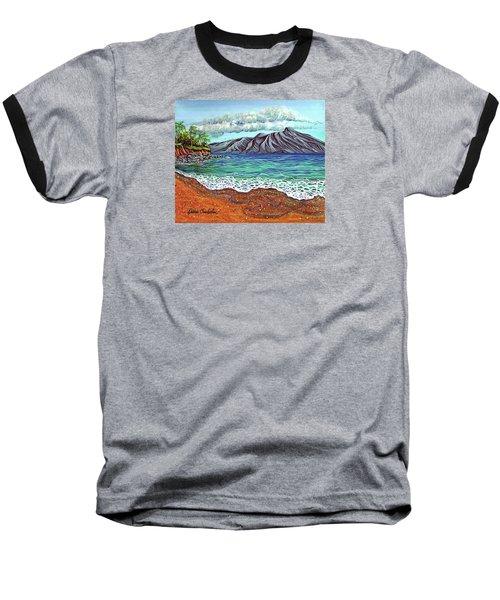 Island Time Baseball T-Shirt by Debbie Chamberlin