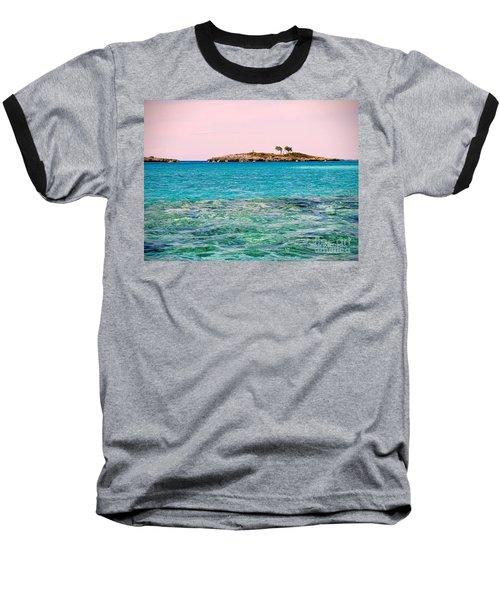 Island Tree Couple Baseball T-Shirt