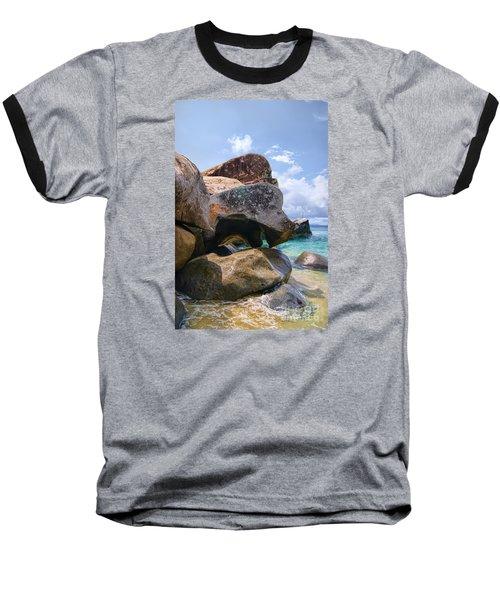 Island Virgin Gorda The Baths Baseball T-Shirt