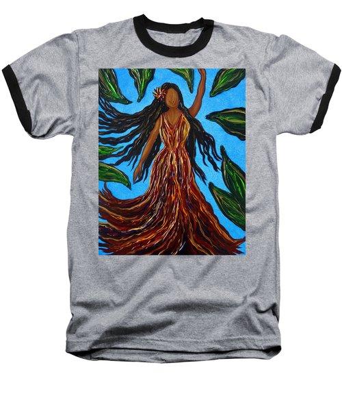 Island Woman Baseball T-Shirt