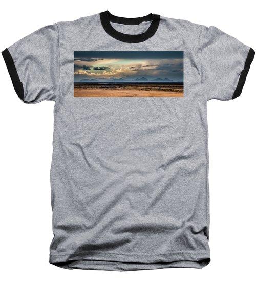 Islands In The Sky Baseball T-Shirt