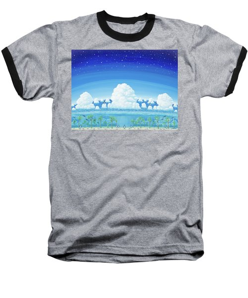 Islands Of Impermanence Baseball T-Shirt