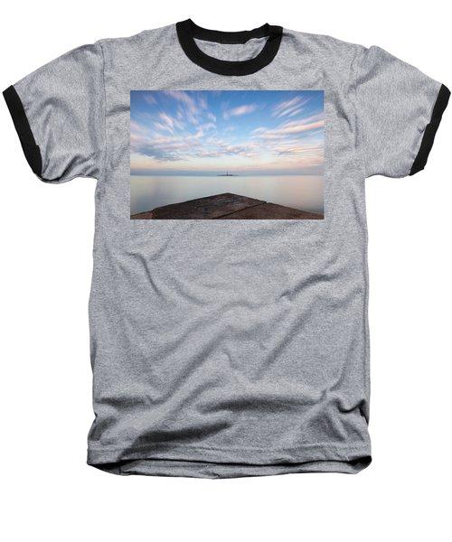Islet Baraban With Lighthouse Baseball T-Shirt
