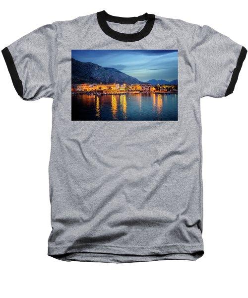 Isola Delle Femmine Harbour Baseball T-Shirt