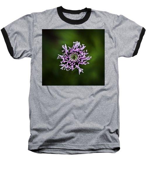 Isolated Flower Baseball T-Shirt by Jason Moynihan
