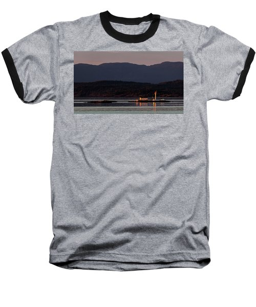 Isolated Lighthouse Baseball T-Shirt
