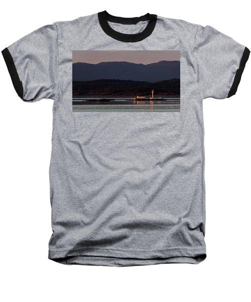 Isolated Lighthouse Baseball T-Shirt