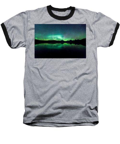 Iss Aurora Baseball T-Shirt by Aaron Aldrich