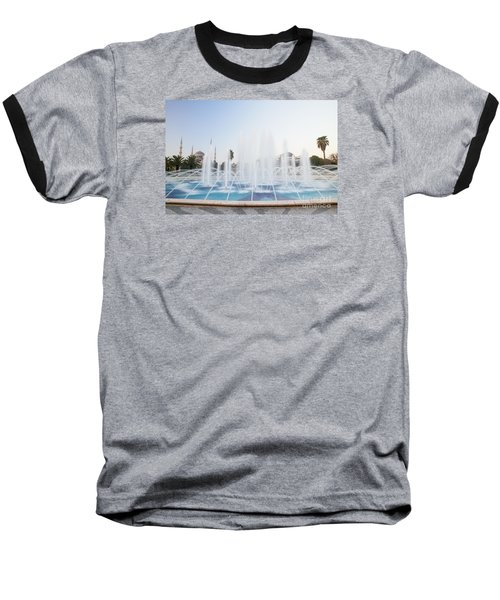 Istanbul City Center I Baseball T-Shirt by Yuri Santin