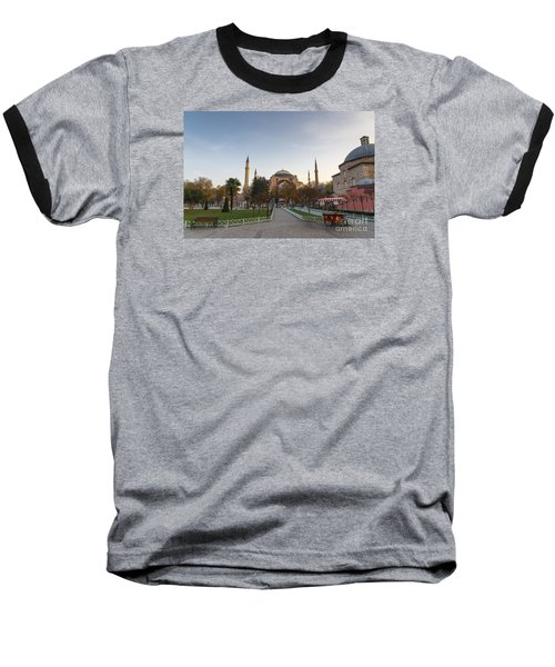 Istanbul City Center Baseball T-Shirt by Yuri Santin