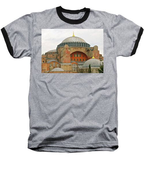 Baseball T-Shirt featuring the photograph Istanbul Dome by Munir Alawi