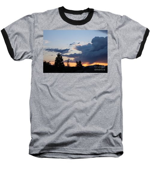 Baseball T-Shirt featuring the photograph It Cometh by Marie Neder