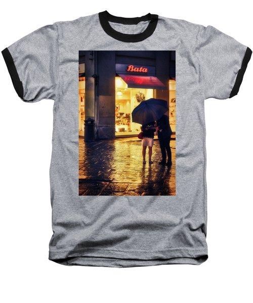 It Is Raining In Firenze Baseball T-Shirt