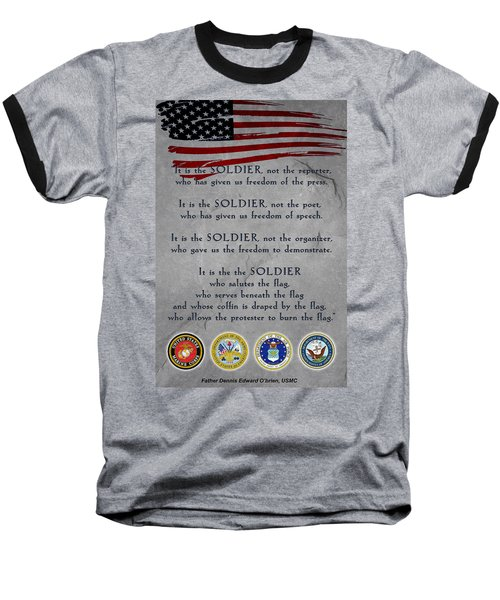 It Is The Soldier Baseball T-Shirt