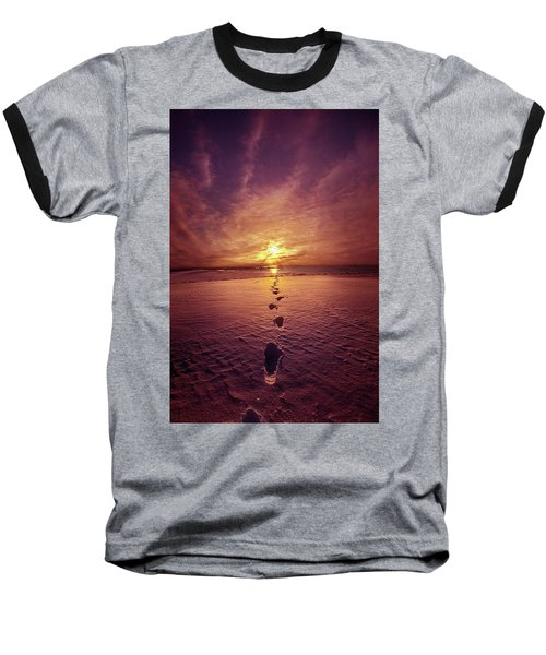 Baseball T-Shirt featuring the photograph It Is Then That I Carried You by Phil Koch