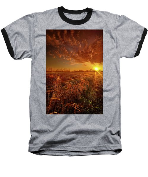Baseball T-Shirt featuring the photograph It Just Is by Phil Koch