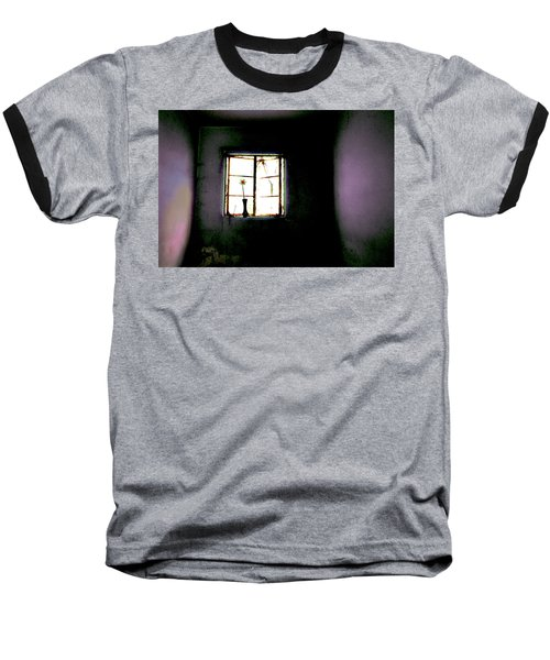Baseball T-Shirt featuring the photograph It Was Her Room... by Gray  Artus