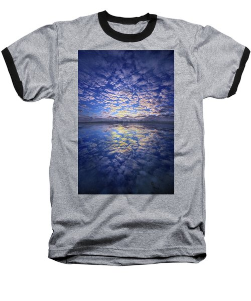 Baseball T-Shirt featuring the photograph It Was Your Song by Phil Koch