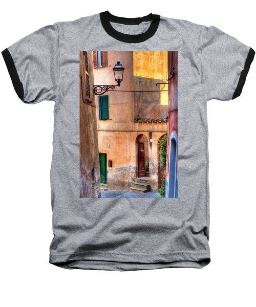 Italian Alley Baseball T-Shirt