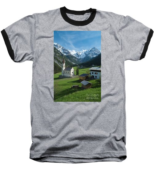 Italian Alps Hidden Treasure Baseball T-Shirt