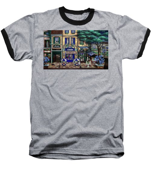 Italian Cafe Baseball T-Shirt