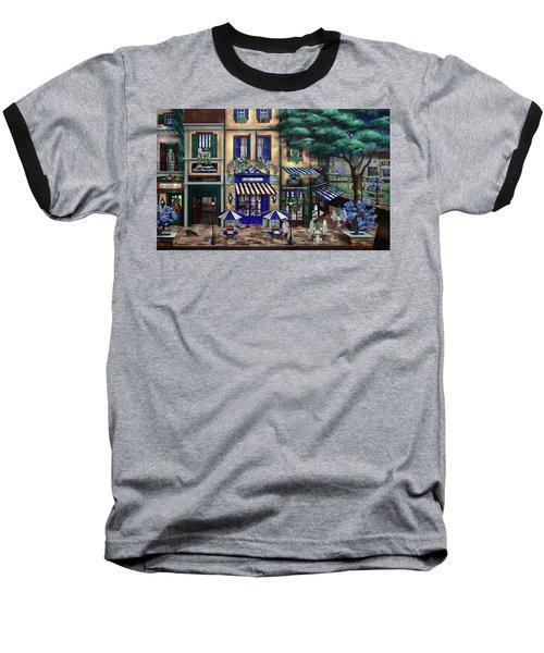 Italian Cafe Baseball T-Shirt