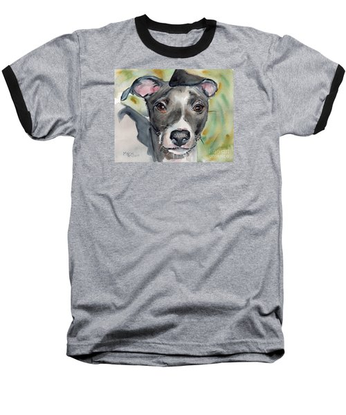 Italian Greyhound Watercolor Baseball T-Shirt