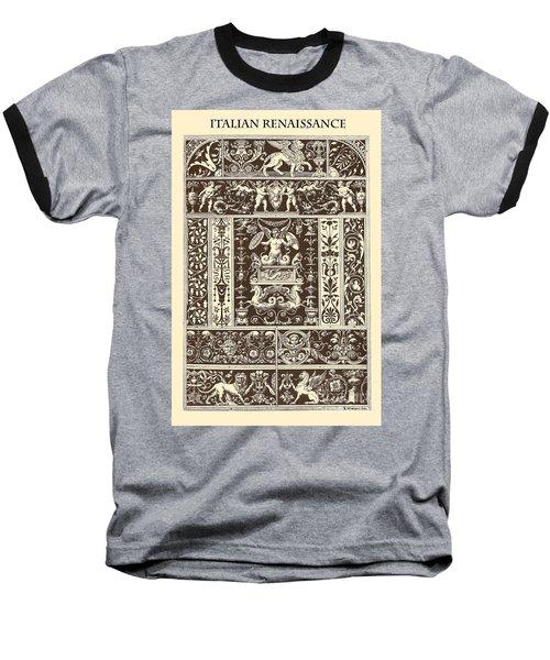 Italian Renaissance Baseball T-Shirt