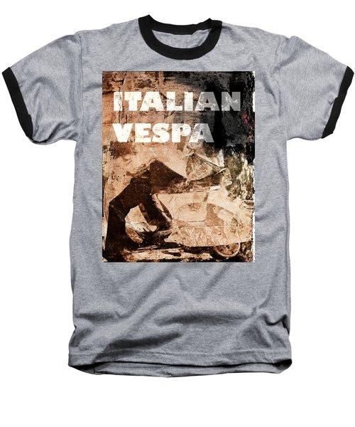 Italian Vespa Baseball T-Shirt