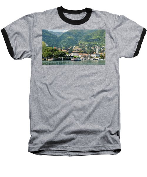 Italian Village On Lake Como Baseball T-Shirt