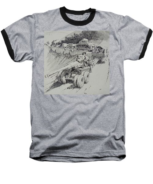 Italy 1943. Baseball T-Shirt by Mike Jeffries