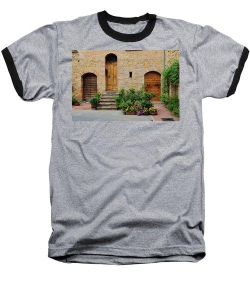 Italy - Door Eight Baseball T-Shirt