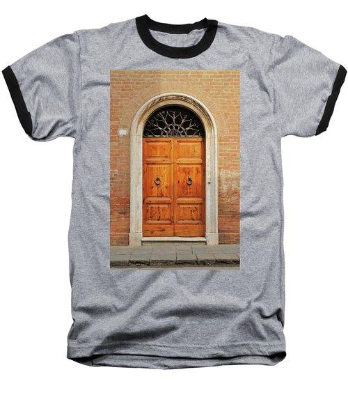 Italy - Door Fifteen Baseball T-Shirt