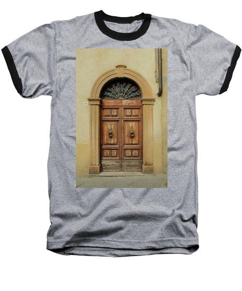 Italy - Door One Baseball T-Shirt