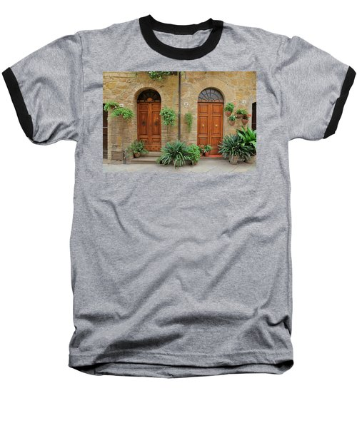 Italy - Door Seventeen Baseball T-Shirt