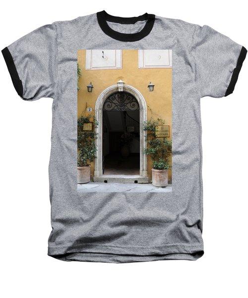 Italy - Door Thirteen Baseball T-Shirt