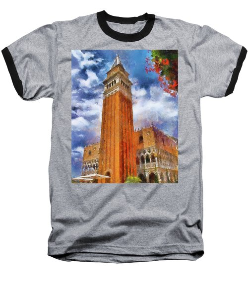 Italy In Florida Baseball T-Shirt
