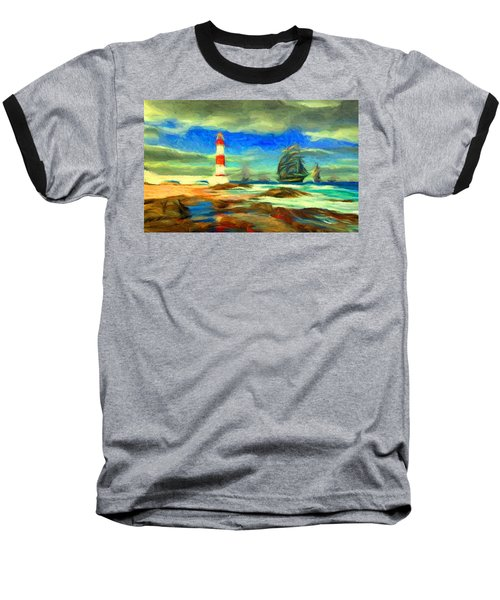 Itapua Lighthouse 1 Baseball T-Shirt