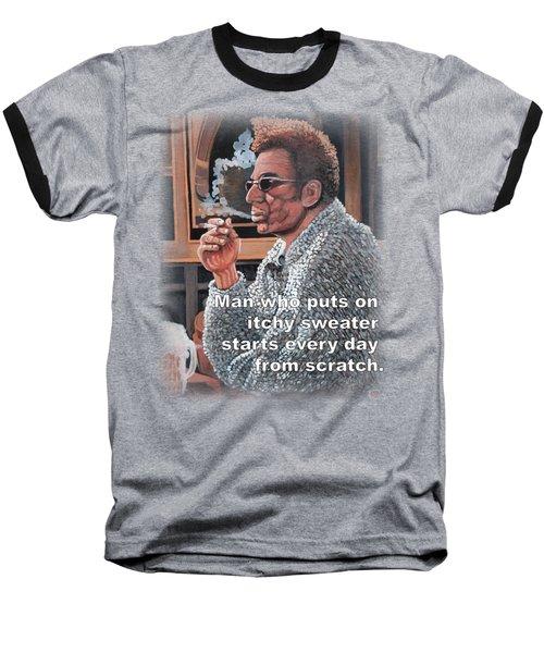 Itchy Sweater Baseball T-Shirt