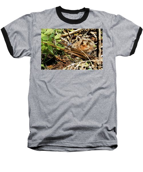It's A Baby Woodcock Baseball T-Shirt