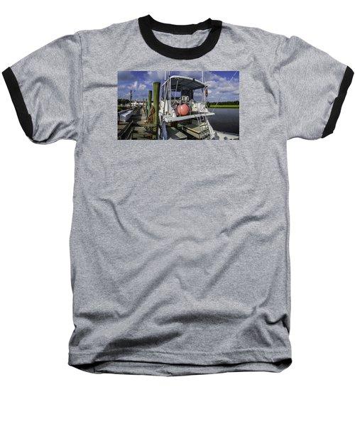 It's A Beautiful Day Baseball T-Shirt by David Smith