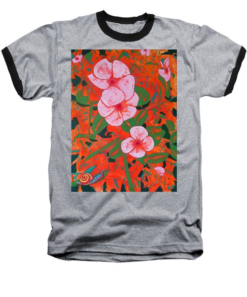 It's A Big World Baseball T-Shirt