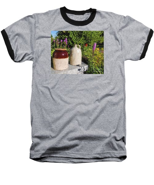 Baseball T-Shirt featuring the photograph It's A Crock by Mim White