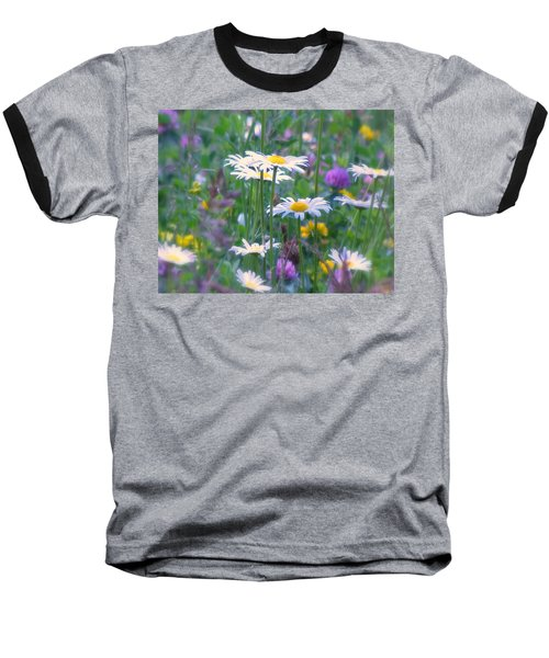 It's A Daisy Kind Of Day Baseball T-Shirt