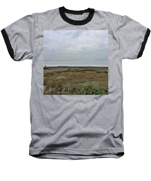 It's A Grey Day In North Norfolk Today Baseball T-Shirt