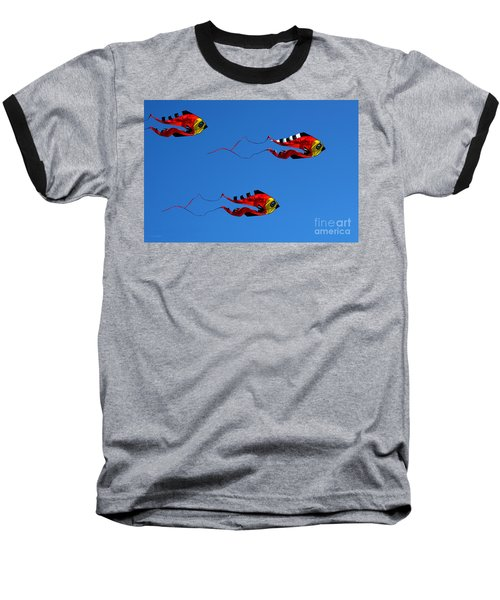 It's A Kite Kind Of Day Baseball T-Shirt