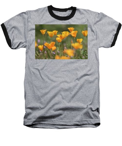 Baseball T-Shirt featuring the photograph It's A Poppy Thing  by Saija Lehtonen