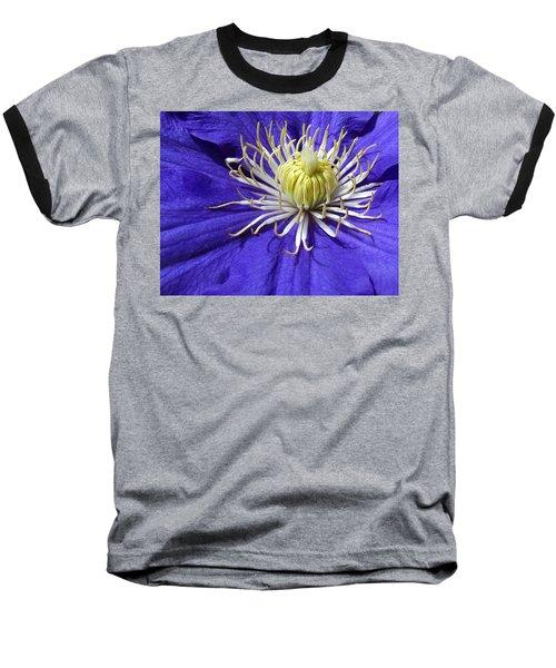 It's A Purple World Baseball T-Shirt