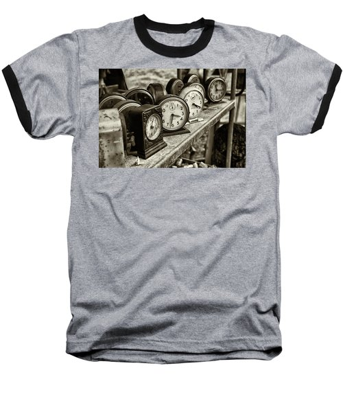 Baseball T-Shirt featuring the photograph It's About Time by John Hoey