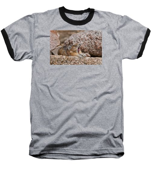 Baseball T-Shirt featuring the photograph It's Been A Long Day by Gary Lengyel